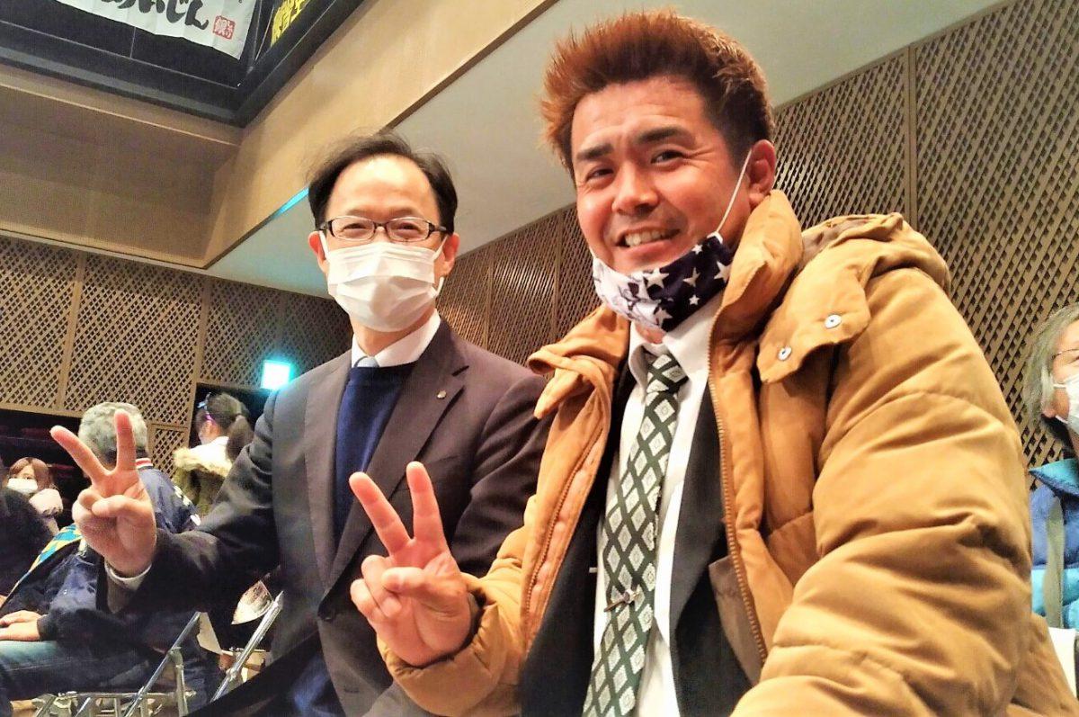 プロレスリングFTO主催FTO17th記念大会「クリスマス★バトル~聖戦~」市長と観戦しました!!