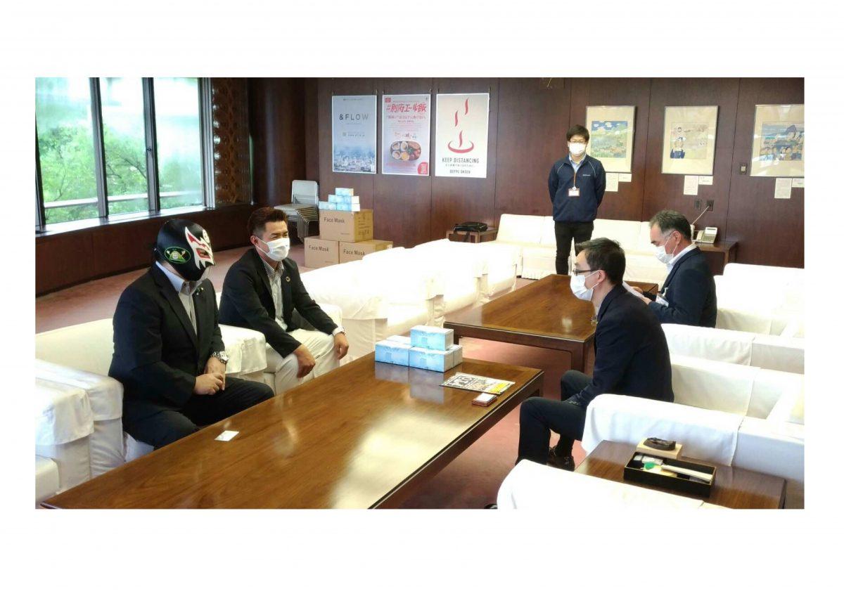 じもっと!OITA【OAB大分朝日放送】に弊社の寄付活動が紹介されました!!